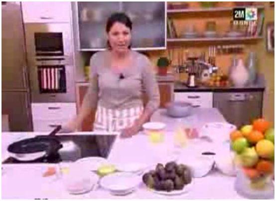 tarte poire choumicha video madeleine