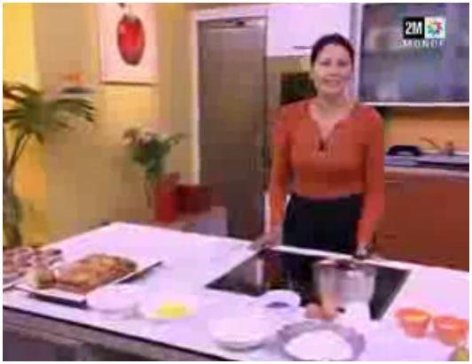 tarte poire choumicha madeleine choumicha video